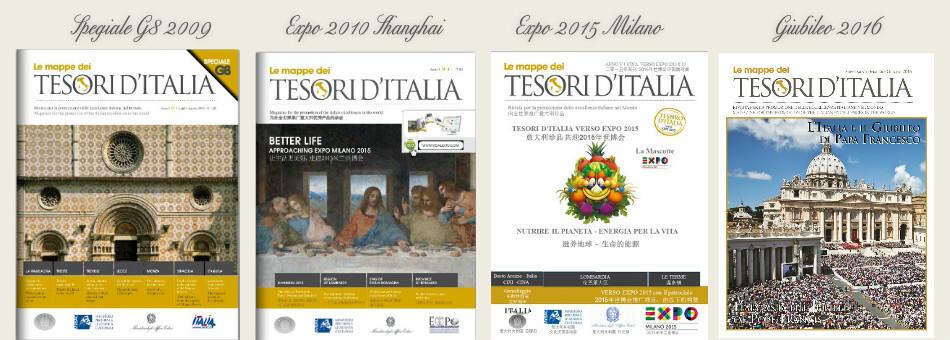 riviste tesori d'italia